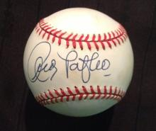 Andy Pafko Single Signed Rawlings Official National League Leonard Coleman Baseball Certified by JSA