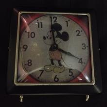 Vintage Disney Mickey Mouse Clock Made by Welby
