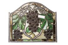 Stained glass window insert