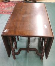 Mahogany Gate Leg Dining Table