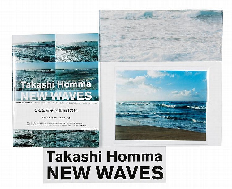 HOMMA TAKASHI (1962) New Waves Tokyo : PARCO. Co, 2007. Grand in-folio (37 x 28 cm) Broché. Couverture illustrée jaquette illustré...