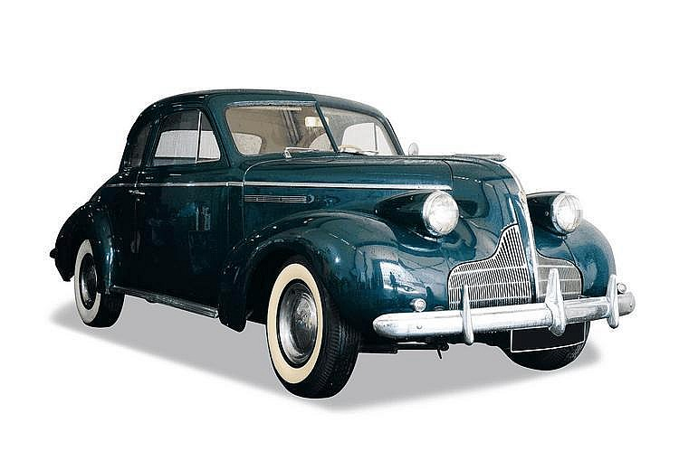 Buick Century business coupe par Fisher 1939