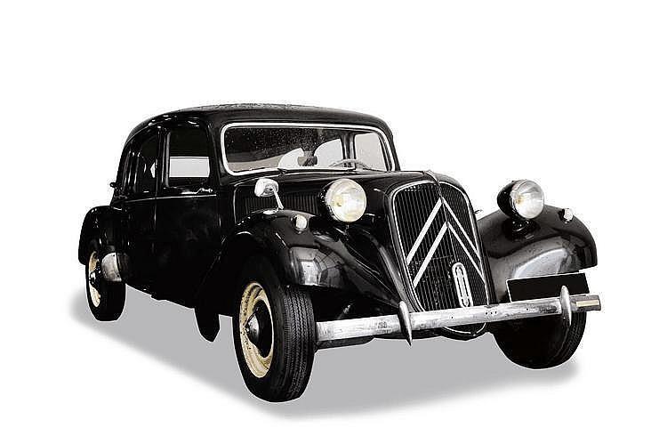 Citroën traction 11 cv familiale 1953 Châssis : n°