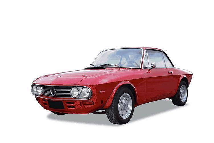 Lancia fulvia HF Châssis : n° 8-8340-003783 •