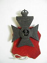 The King's Royal Rifle Corps Badge