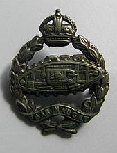 A World War I Royal Tank Corps Badge