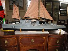 A Radio Control Model of Royal Navy Icebreaker Ship F84, hull 123cm