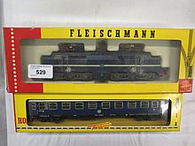 Fleischmann HO 1390 and carriage