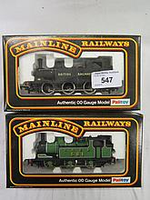 Two Mainline Tank Engines