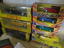 Seven Norev Cars