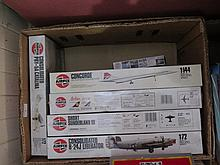 Five Airfix Aeroplane Models and one other