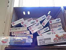 Boxof 19 Airfix Cars and other models