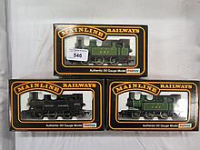 Three Mainline Tank Engines