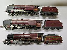 Wrenn City of London Loco with tender, Hornby Princess Royal and unmarked Royal Scott