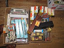 Two boxes of Model Railway Accessories including Marklin