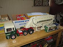 A Large Radio Controlled Model of W.R. Wood Ltd Articulated Tanker Lorry