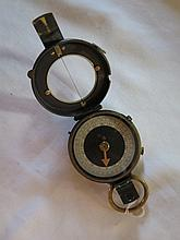 WWI British Army Prismatic Compass