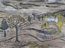 After Ben Nicholson, Cumberland Landscape, 23 x 18cm, F