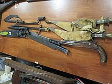 Small Collection of bayonets and knives