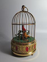 A German Karl Griesbaum? Two Bird Singing Automaton