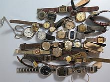 Large Quantity of Wristwatches
