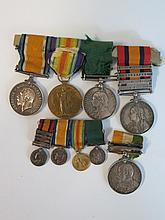 Victorian South Africa Medal with Relief of Kimberley, Orange Free State, Transvaal and South Africa