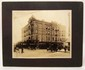 EARLY MOUNTED PHOTO OF THE ST. FRANCIS HOTEL IN PORTLAND OREGON