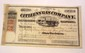 1863 CITIZENS' GAS COMPANY STOCK CERTIFICATE SAN FRANCISCO CALIFORNIA