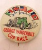 1936 GEORGE VANDERBILT CUP RACE CAR CELLULOID BADGE