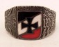 CASED GERMAN NAZI WAFFEN SS WIKING DIVISION OFFICERS RING