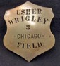 CHICAGO WRIGLEY FIELD USHER BADGE