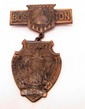 1917 CIVIL WAR G.A.R. 51ST NATIONAL ENCAMPMENT BADGE - BOSTON, MA