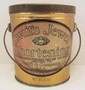 VINTAGE SWIFT'S JEWEL ADVERTISING LARD PAIL STYLE TIN - 6.5