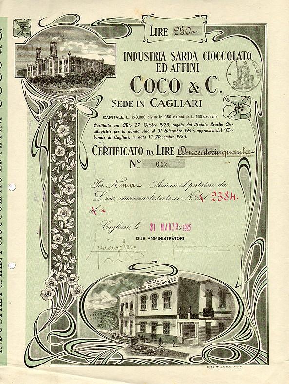 Industria Sarda Cioccolato ed Affini Coco & C.