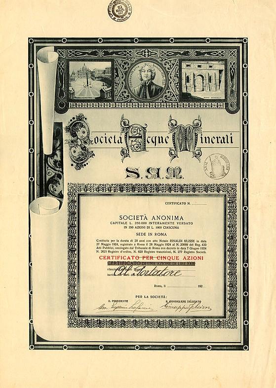 Società Acque Minerali - S.A.M.