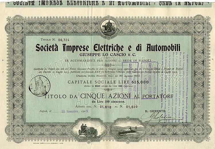 Società Imprese Elettriche e di Automobili Giuseppe Lo Cascio e C.