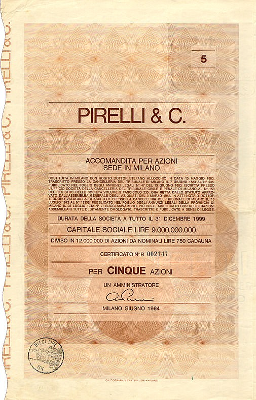 Pirelli & C.