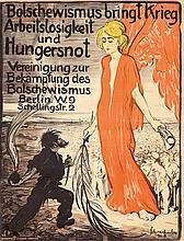Bolschewismus bringt Kreig. 1918