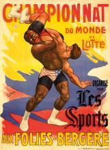 Championnat du Monde de Lutte. ca. 1900