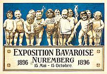 Exposition Bavaroise Nuremberg. 1896