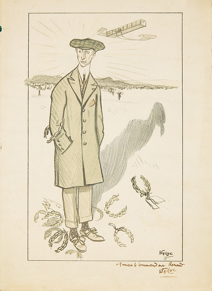 Wilbur Wright. 1909