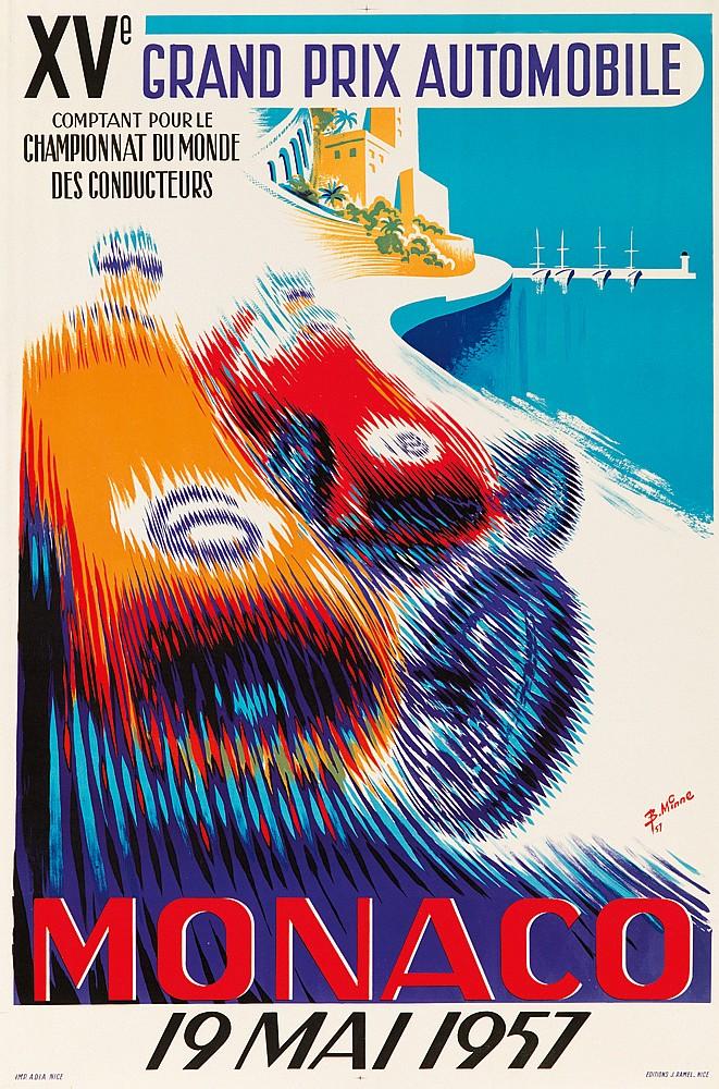 Monaco / 19 Mai 1957. 1957