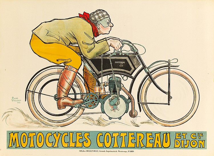 Motocycles Cottereau. 1905
