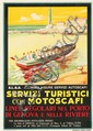 Servizi Turistici con Motoscafi. 1928