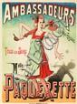 Ambassadeurs / Melle Pâquerette. ca. 1893