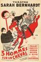 3 Hommes sur un Cheval. ca. 1935