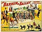 Barnum & Bailey / A Whole Horse Show. 1906