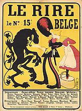 Original 1890s/1900s LE RIRE French Advertising Poster