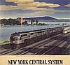 Original 1940s RAGAN NYCentral Rail Poster Calendar Top, Leslie Darrell Ragan, $300