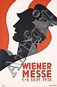 Set of 2 Original 1930s Vienna Fair Posters Kosel